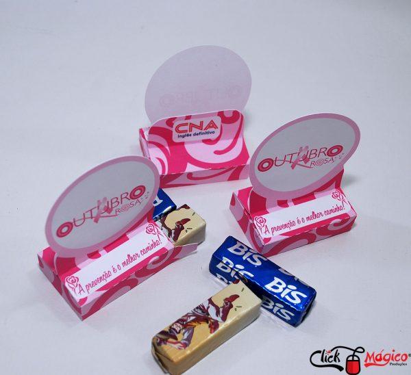 caixa para bis outubro rosa