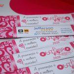 envelope para lixa Outubro Rosa
