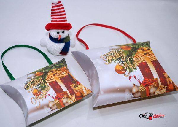 sacolinha travesseiro natal