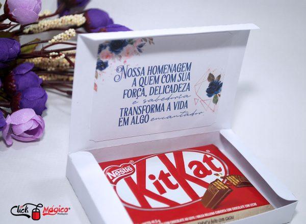 caixa para chocolate dia da mulher