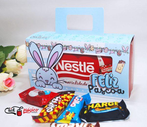 caixa para caixa de chocolates nestle páscoa