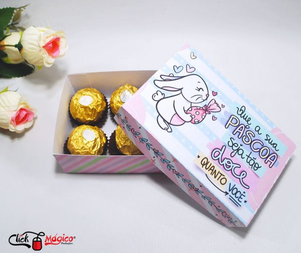 caixinha para doces de páscoa