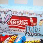 sacolinha para caixa de chocolates páscoa