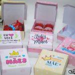 caixinha personalizada para chocolates dia das mães