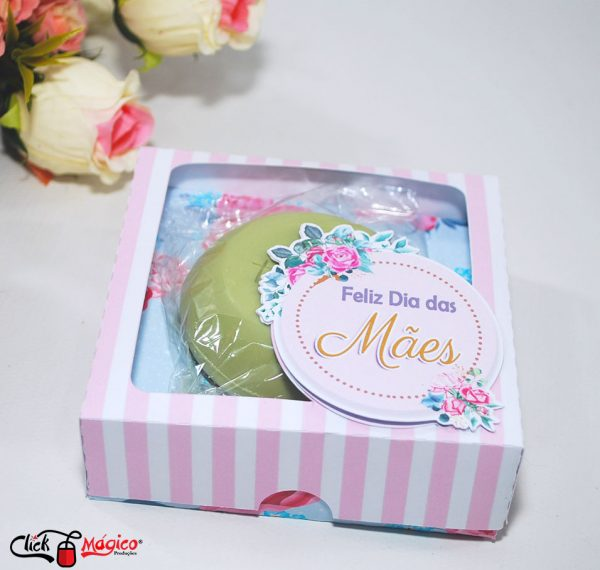 caixinha personalizada para sabonete dias das mães