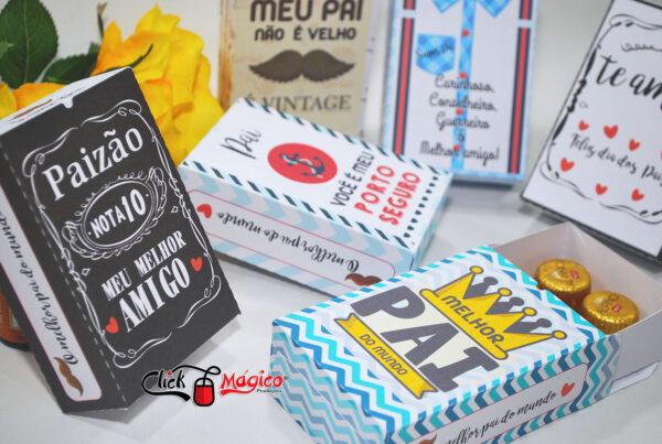 15 caixa para doce gourmet Dia dos Pais