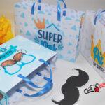 3 sacola personalizada para Dia dos pais