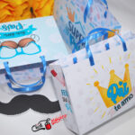 3 sacolinha personalizada para Dia dos pais