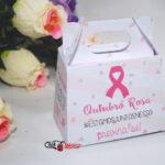 1 sacolinha para bombom Outubro Rosa