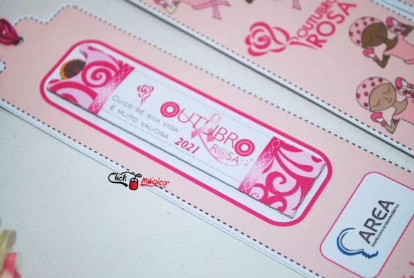 3 marca página brinde Outubro Rosa