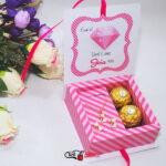 5 caixinha para brincos e colar Outubro Rosa