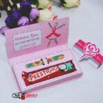 2 caixinha chocolate prestigio outubro rosa